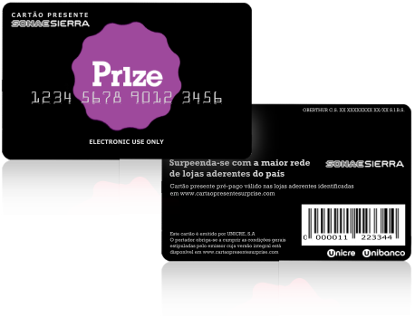 Prize saldo